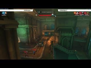 Стратегия со стеной Мэй и телепортом на Blizzard World.