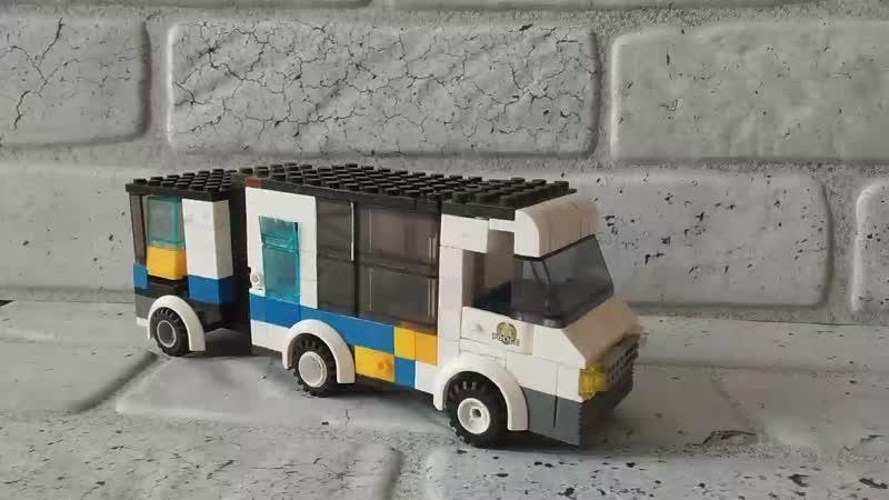 маршрутка ГАЗ Пилигрим из Лего часть 2