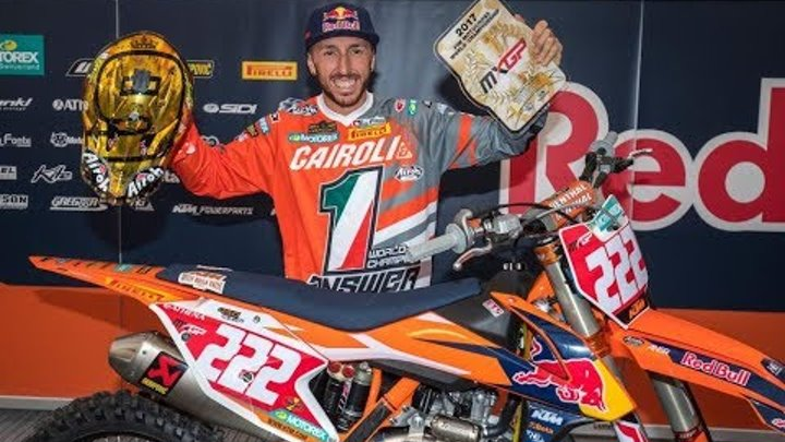 2019 CAIROLI MOTIVATIONAL VIDEO CAIROLI TRIBUTE VIDEO ROAD TO THE 10th MXGP TITLE