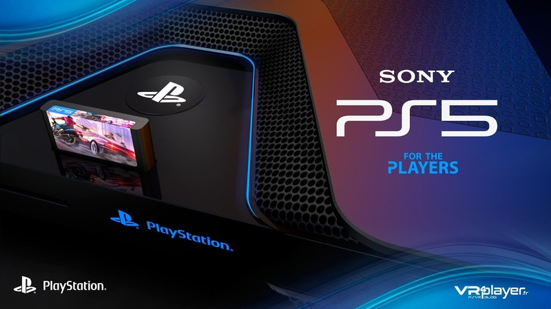 PS5 PlayStation 5 - Concept Design Trailer V4 - Welcome to the future of Gaming - VR4Player