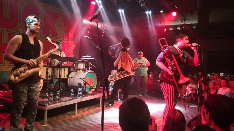 Lucky Chops live in Prague (@Lucerna Music Bar 21.10.19)