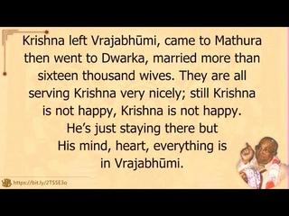 Шрила Гоур-Говинда Свами, Почему Господь Кришна принимает форму Джаганнатхи,Towaco (USA),