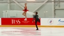 Алиса Ефимова / Александр Коровин - короткая программа. 3 этап Кубка России 2019