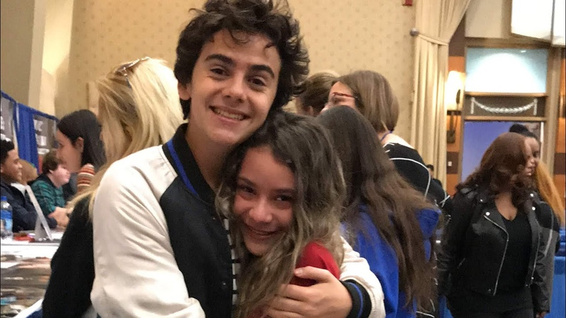 My daughter's reaction to meeting Jack Dylan Grazer