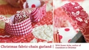 Jelly Roll Christmas Project: Adorable No-Sew Fabric Chains with Susan Ache | Martingale