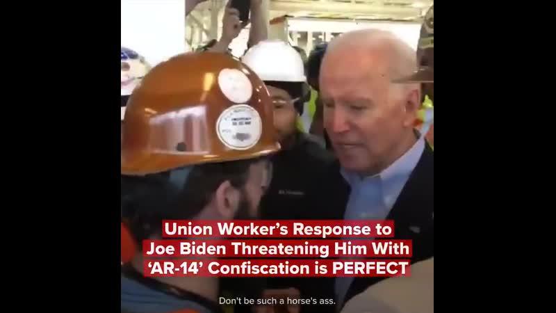 Union Worker Responds to Biden's Threat Against AR 14