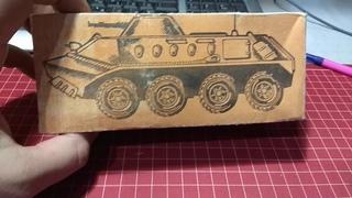 БТР - 60 50 лет Киргизкой сср игрушка из СССР