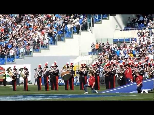 Italia Scozia - Inno nazionale cantato da tutto lo stadio. BRIVIDO!