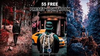 FREE 55 PRESET LIGHTROOM BY KF CREATOR   LIGHTROOM TUTORIAL