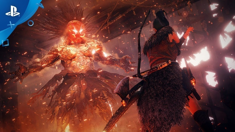 Nioh 2 Release Date Reveal Trailer PS4