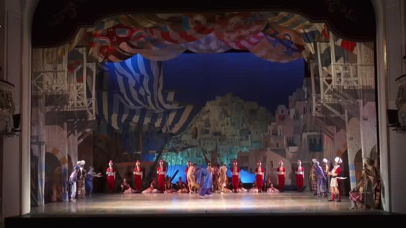 Pas des`clave из балета Корсар БГТОИБ Доброхвалова Софья Доброхвалов Артем