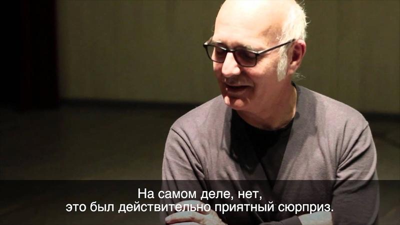 Ludovico Einaudi live in Moscow 6.04.2012 Interview improvisation