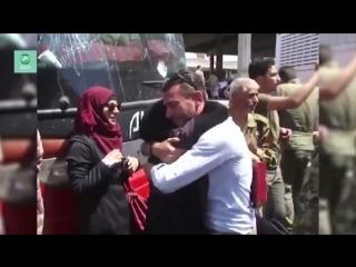 В Джабрин (Алеппо) прибыла последняя колонна автобусов с мирными жителями