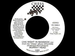 Murray Head ~ One Night In Bangkok/Chess Medley 1984 Disco Purrfection Version