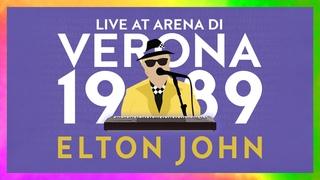 Elton John - Arena di Verona, Italy 1989