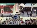 Курсант МВД Никита Ерошенко бросается с автоматом на машину кортежа Путина на Красной площади