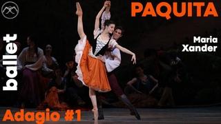 Ballet PAQUITA - Adagio #1 - Maria Khoreva & Xander Parish
