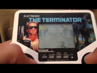 Tiger Electronics Handheld The Terminator full gameplay--9,050 points high score