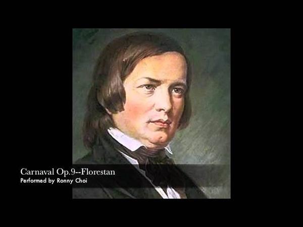 Schumann Carnaval--Florestan