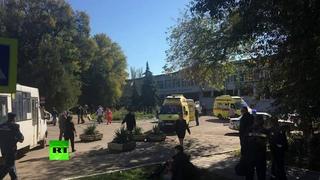 «У нас взорвали политех, в нас стреляли»  студентка колледжа — о теракте в Керчи