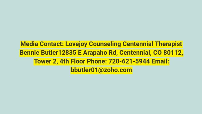 Counselor Littleton CO Counseling Littleton CO