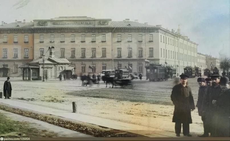 Эксклюзивные цветные фотографии Петербурга начала 20 века - часть 2, изображение №10