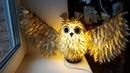 Золотая Совушка из подложки