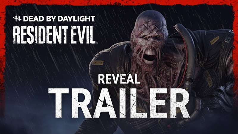 Dead by Daylight Resident Evil Reveal Trailer
