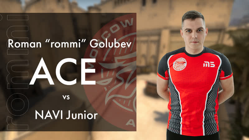 Rommi Ace vs NAVI Junior de mirage Blast Premier Spring Showdown Open Quali
