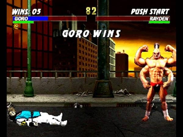 Mortal Kombat Trilogy (Sega Saturn) Arcade as Goro