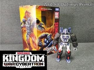 Обзор трансформера Optimus Primal - Kingdom WFC-K8 - Voyager class - Hasbro. Музей Р-ТФ.