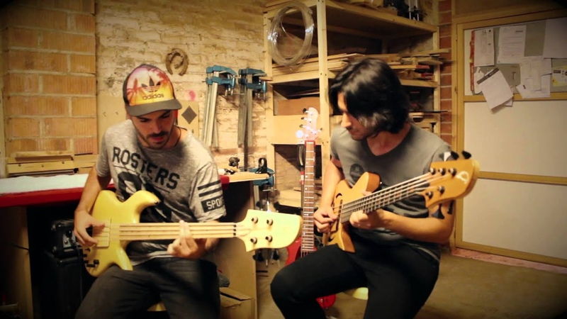 Andrés Rotmistrovsky Miki Santamaria Human Nature Bass Duet Cover