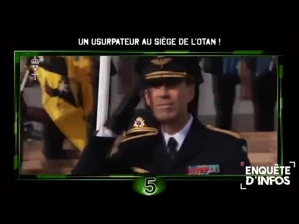 🌐Un usurpateur au siège de l'OTAN !