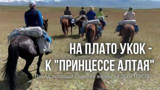 """На конях на плато Укок к """"Принцессе Алтая"""" - место суровое, но красивое."""