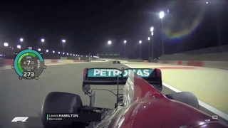 F1 2021 Lewis Hamilton vs Max Verstappen Race Onboard Battle - Bahrain Grand Prix | With Telemetry
