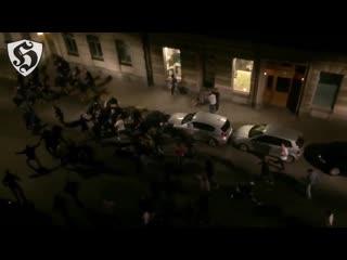 Hooligans fight _ aik vs dif ( firman boys - dfg )