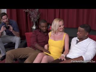 Paisley Porter (Two Big Black Cock) [2020, DP, Anal, 2 On 1, IR, ATM, Big Tits, Cuckold, Pantyhose / Stockings, Creampie, 1080p]