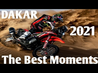Dakar rally 2021 The Best moments. Highlights with motorcycles. Дакар 2021 подборка лучших моментов.