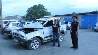 В Акбулаке задержан подозреваемый в угоне автомобиля