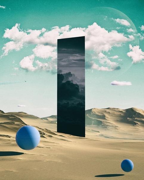 Сюрреалистические пейзажи Адина Кэмпбелла, которые выглядят так, будто они с другой планеты