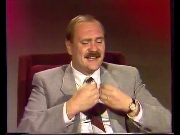 Интервью Бортко и Евстигнеева перед показом Собачьего сердца ЦТ 20 11 1988