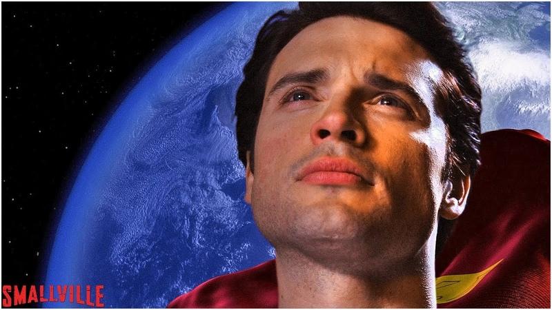 Кларк Кент становится Суперменом Тайны Смолвиля