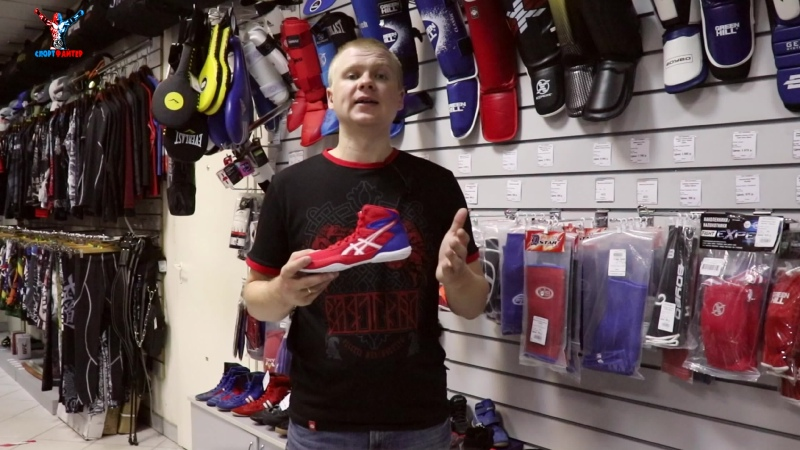Обувь для борьбы от Asics модель matflex 6 для детей | Добротные борцовки для ребенка