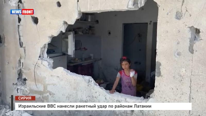 Олег Блохин побывал на месте ракетных ударов израильских ВВС по Латакии
