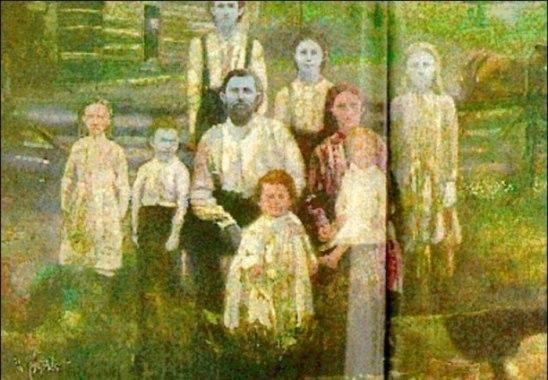 Тайна синих людей из Кентукки В начале 19 века в предгорье Аппалачи был зафиксирован уникальный случай генетической мутации, в результате которой на свет стали появляться дети с синей кожей. По