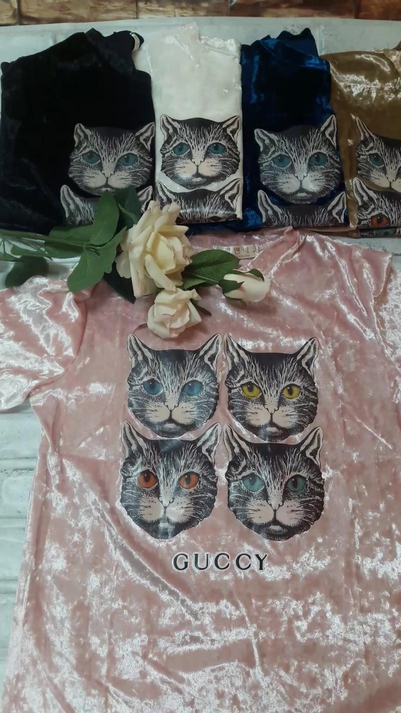 Женские футболки GUCCi от группы АССОРТИ