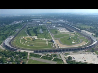 Chopper camera - Indianapolis - Round 16 - 2020 NASCAR Cup Series
