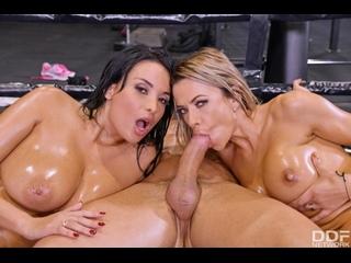 Shalina Devine, Anissa Kate - An XXX-Treme Workout Regimen - Part 2 - Anal Sex Milf Group Big Natural Tits Juicy Ass Orgy, Porn