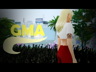 MEGAN-Виниловая Пластинка(Live at GMA)