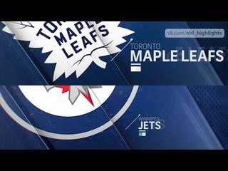 Toronto Maple Leafs vs Winnipeg Jets Apr 24, 2021 HIGHLIGHTS